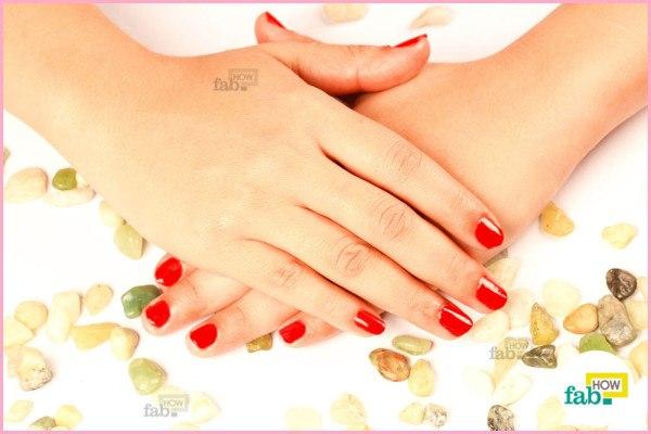 done manicure