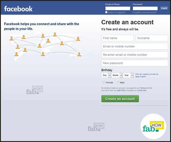 How to permanently delete your facebook account fab how facebook homepage ccuart Gallery