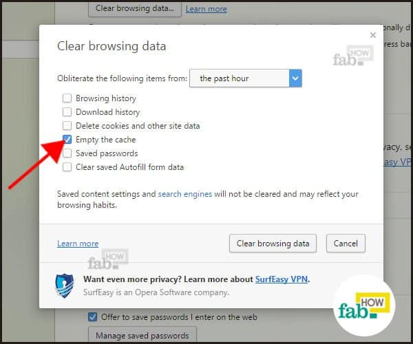 How to Delete Browser Cache in Chrome, Firefox, IE & Opera ...