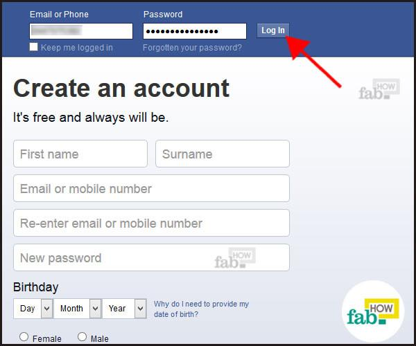 How to delete your facebook group fab how open the page at facebook enter your username and password and log in ccuart Choice Image