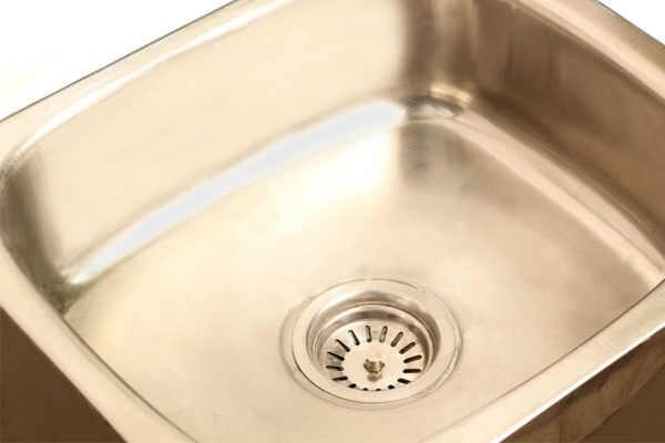 How to Clean a Stained Stainless Steel Sink and Make it Sparkle Fab ...