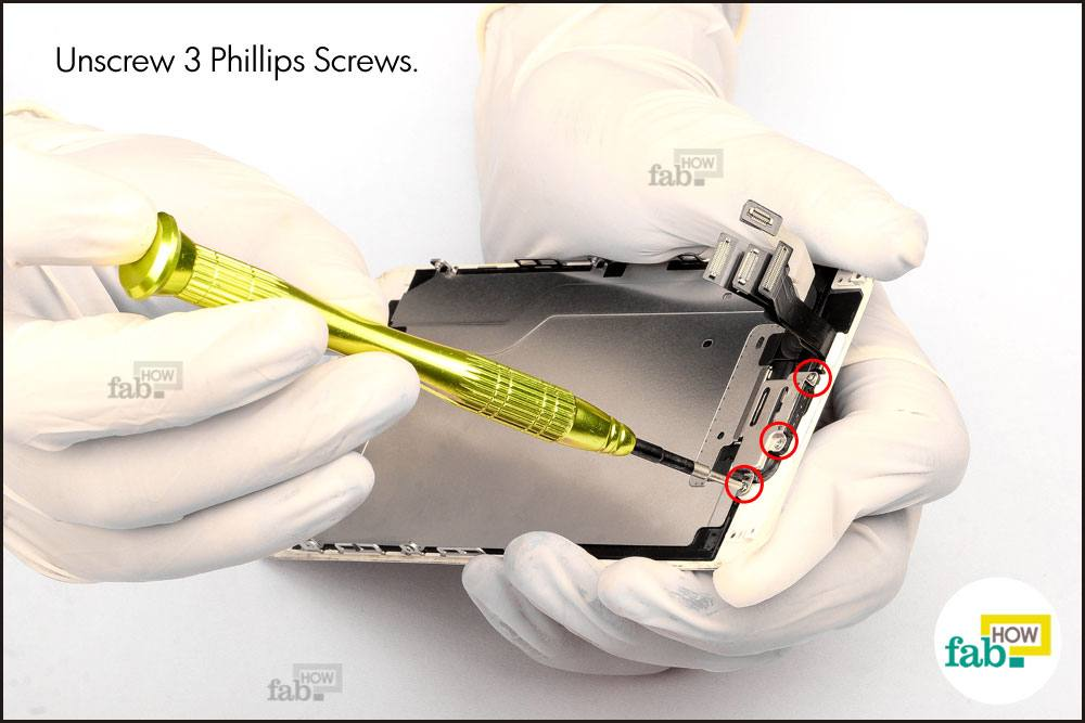 how to change iphone 4 screeen