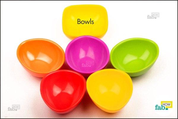 things u need bowls