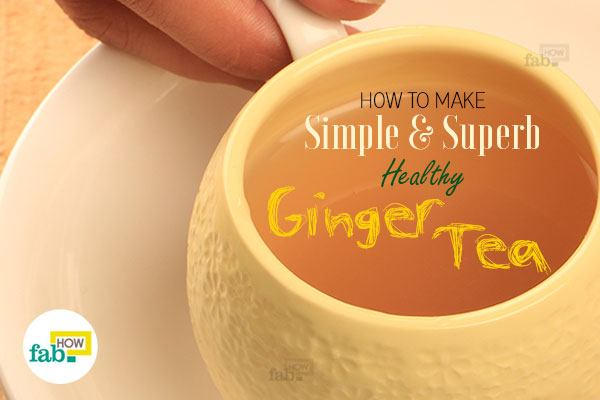 simple ginger tea recipe