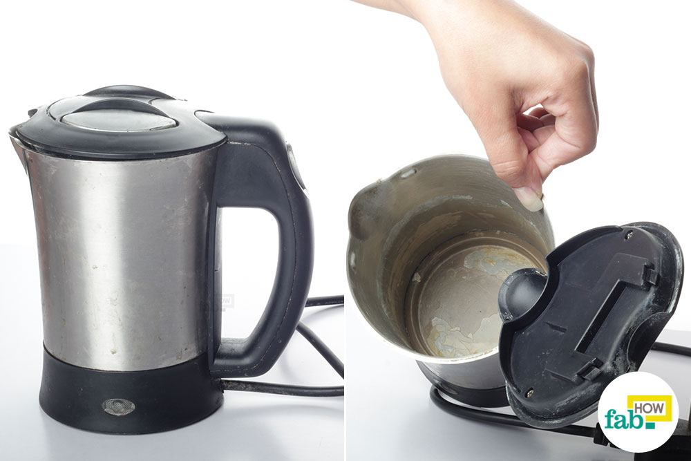 How to Clean Limescale from your Stainless Steel Electric Kettle ...