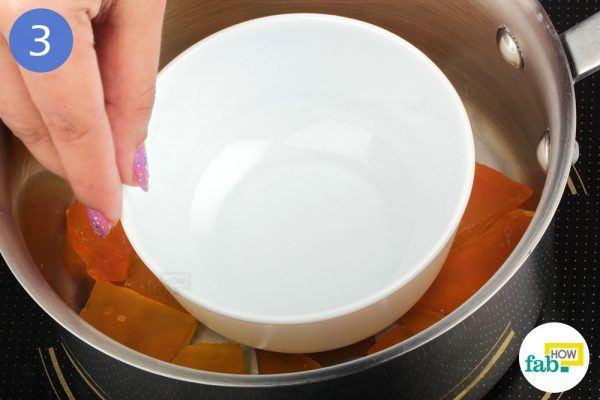place a bowl