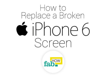 change broken iphone screen