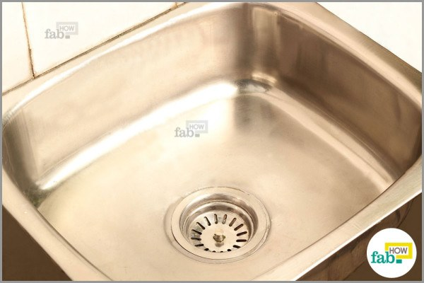 How To Clean A Stained Stainless Steel Sink And Make It