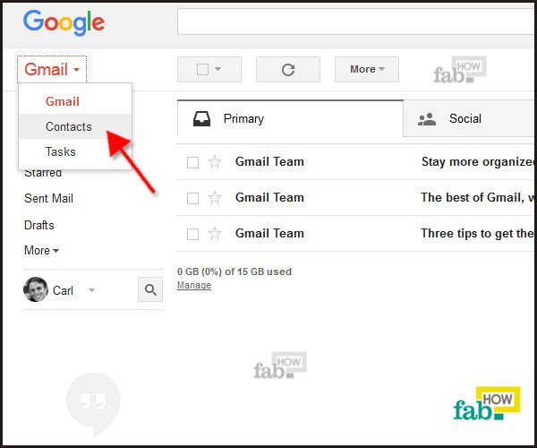 how to create a table in gmail compose