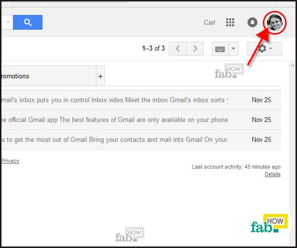 how to delete your gmail profile picture