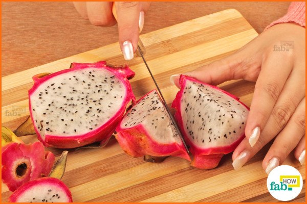 how to cut dragon fruit black sapote fruit