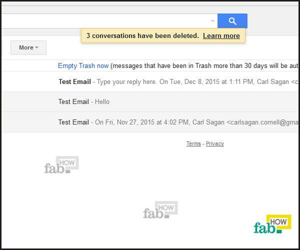 mail forever deleted