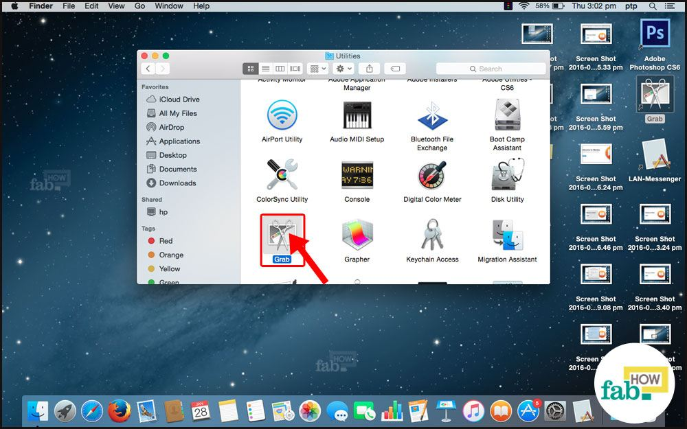 how to take a screenshot quickly on mac