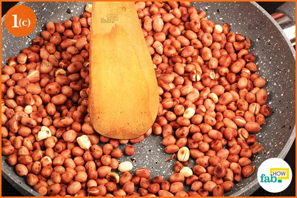 Brown roasted peanuts
