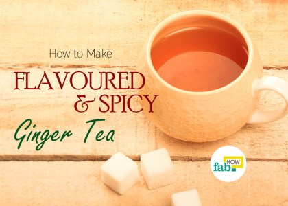 spicy ginger tea featured