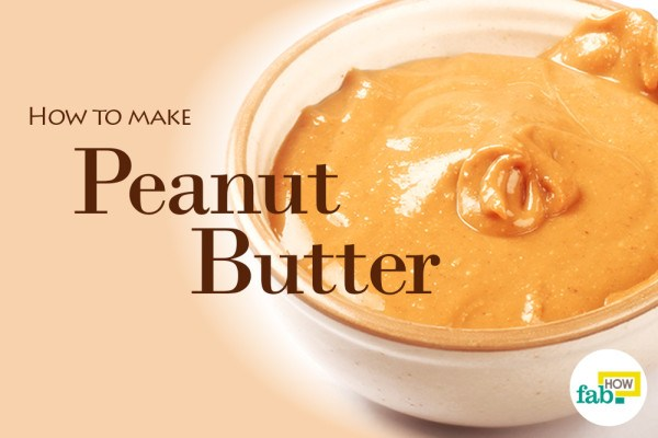 Homemade peanut butter feat