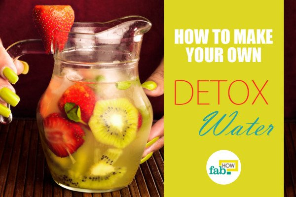 Make your own detox water