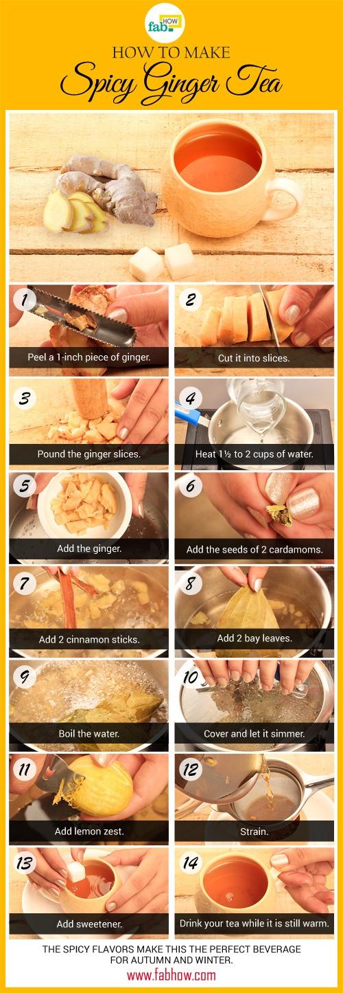 ginger tea recipe summary