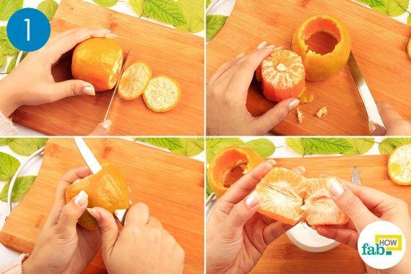 orange for red cabbage salad