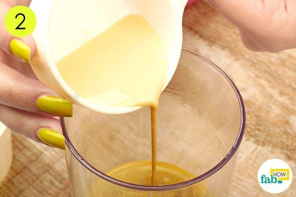 add soya milk