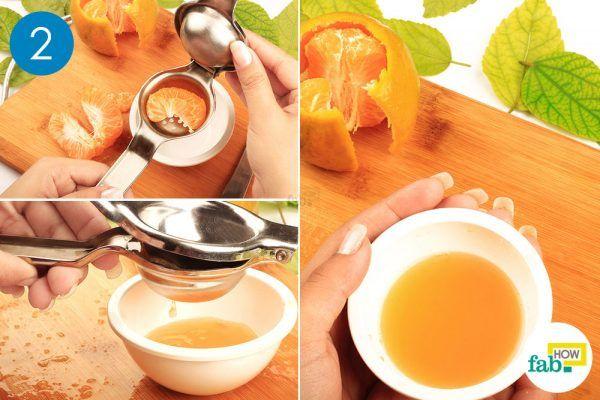 orange juice for red cabbage salad