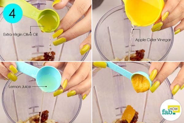 add flavoring ingredients