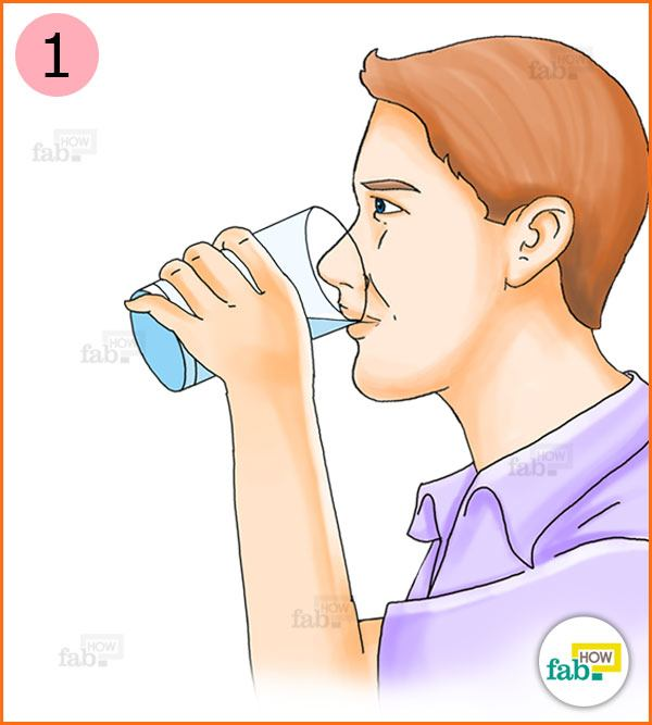 how to not get water in your nose when flipping