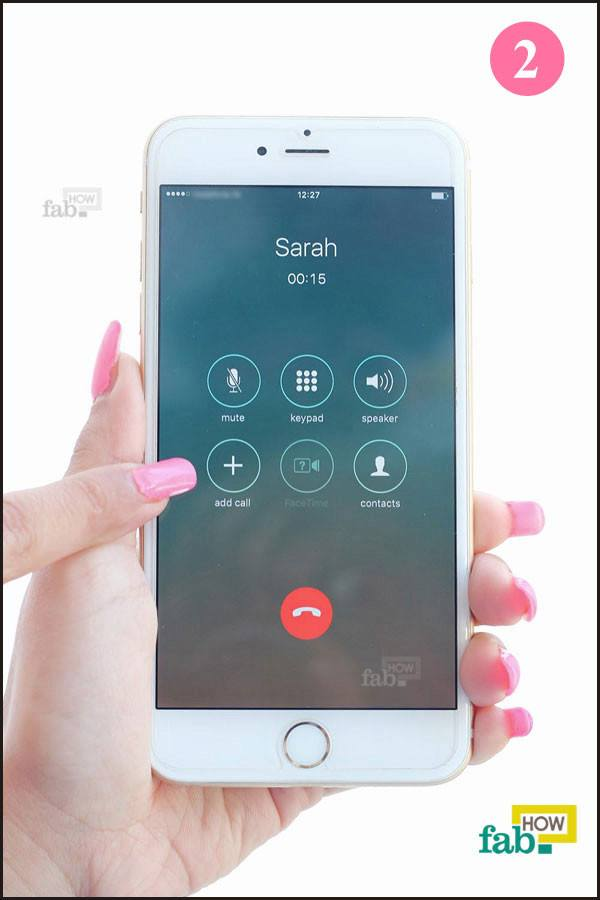 tap add call