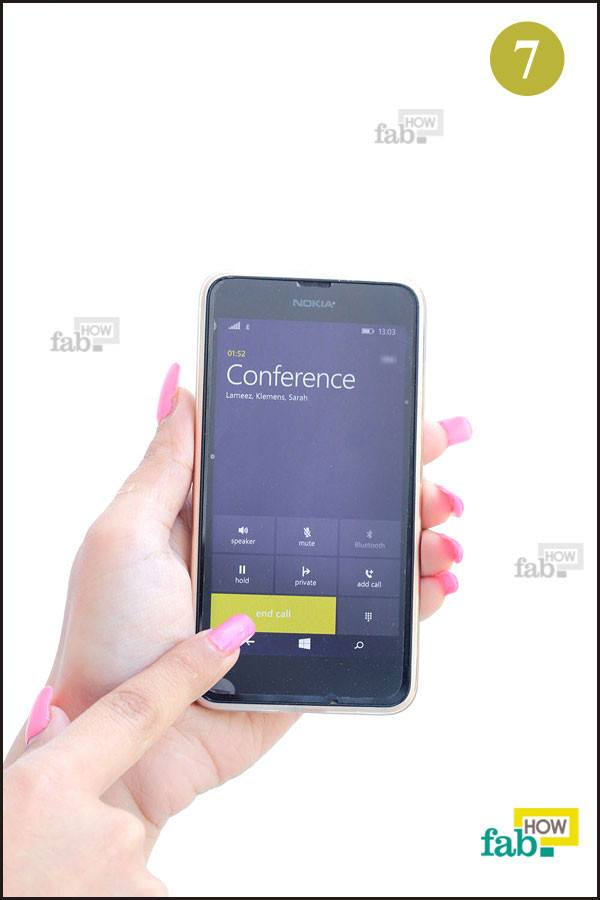 how to make conference call on mobile