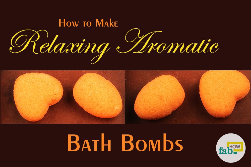 Make bath bomb at home