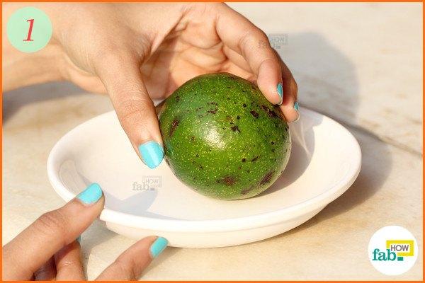 Put avocado in sunlight