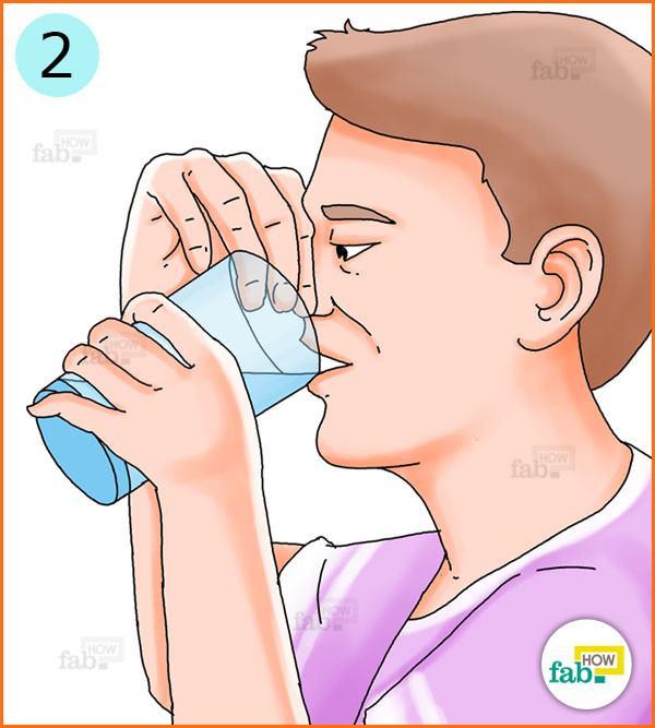 Take 8 sips