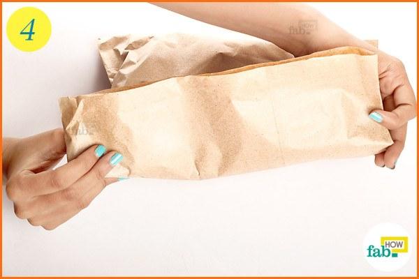 Fold the bag