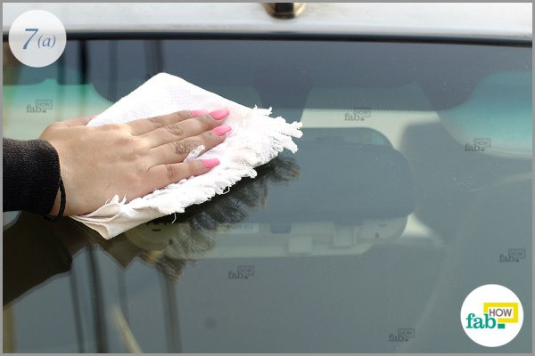 Use dampened side to clean exterior