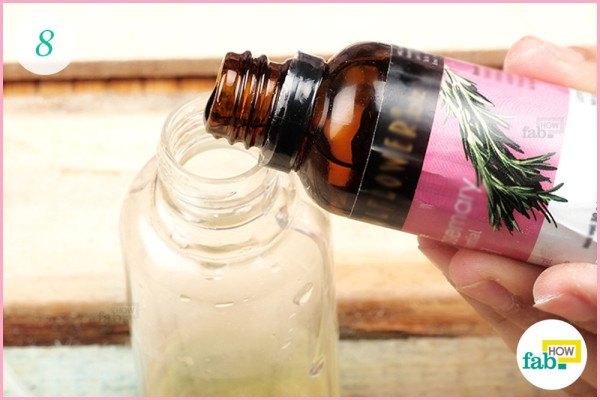 Add essential oil