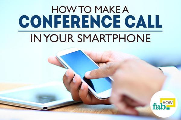 Make a conference call