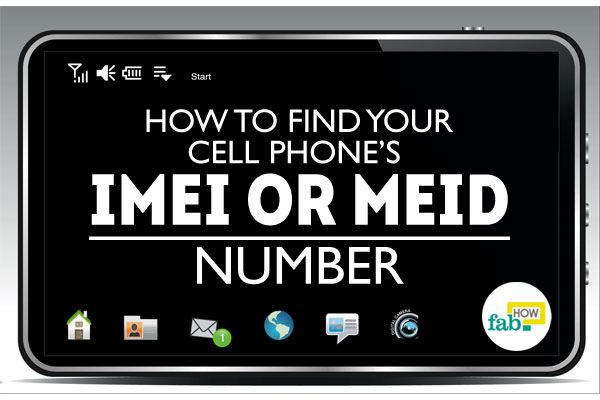 cell phone imei number