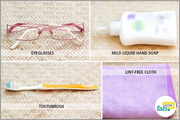 clean eyeglasses things need