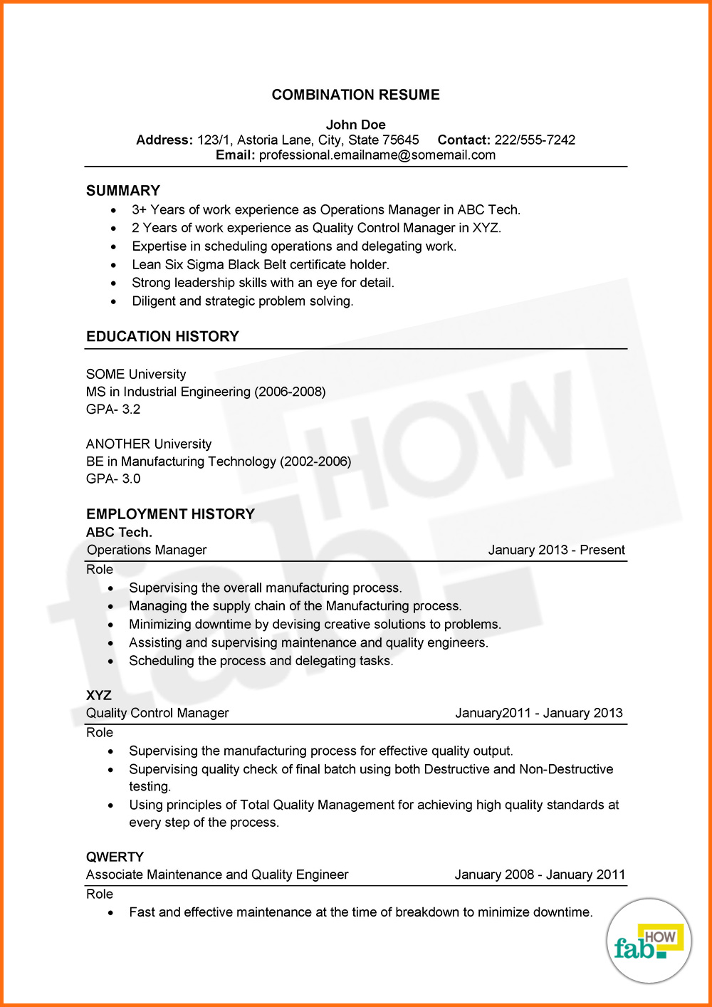How To Make An Outstanding Resume Get Free Sles Star Method Resume Exles  Template