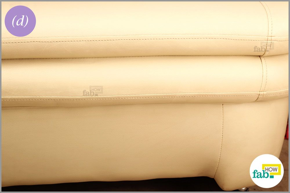 How To Clean And Shine Your Faux Leather Sofa Fab How