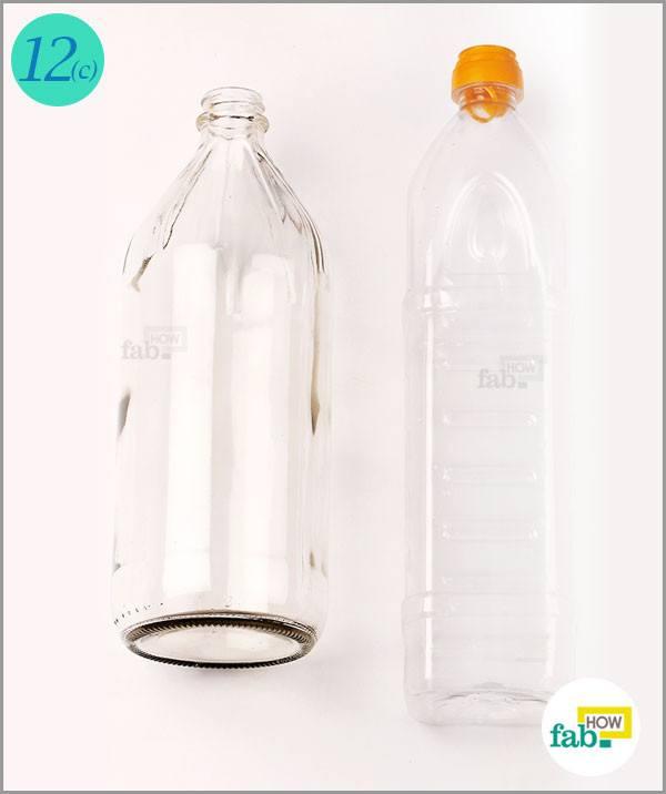 Cleaned bottles