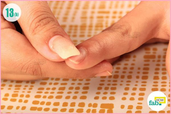 Moisturise your nails