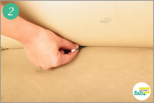 Use cotton swabs to clean the crevices