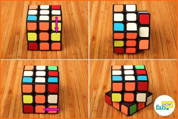 Solve white corner 2