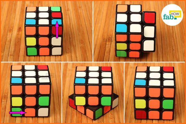 Solve white corner 3