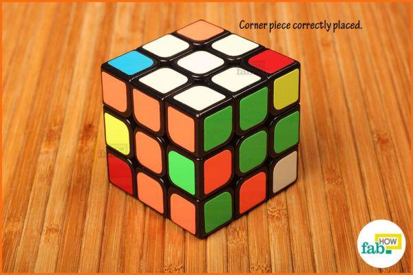 Solve white corner 4