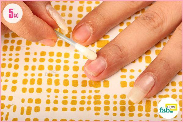 Moisturize your nails