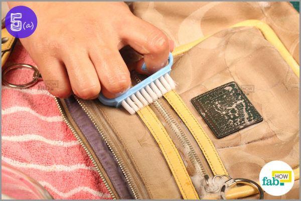 Use nail brush