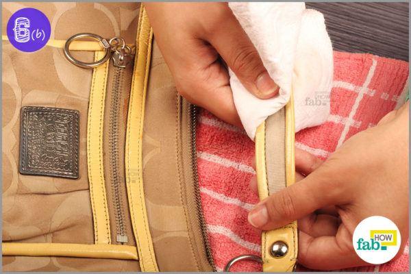 Use lint free cloth