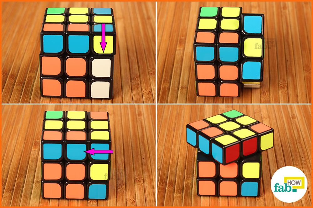 how to solve a rubik s cube if you are a beginner fab how. Black Bedroom Furniture Sets. Home Design Ideas